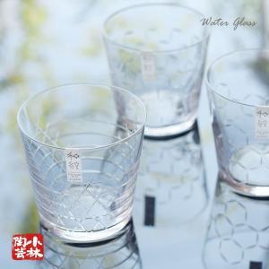 日本の伝統的な紋様を繊細なカットで表現したモダンなグラスです。  このグラスの口部には コードルカッ...
