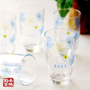 グラスセット ELLE 5個入り 235ml 食洗機対応 (S-6069)