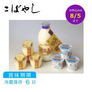送料無料 御中元 木次乳業 乳製品セットB 山陰 贈り物|kobayashigift