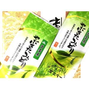 茶三代一 やぶきたみどり 2本入 ギフト kobayashigift