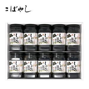 しじみ醤油味付のり 10セット入り SK50|kobayashigift
