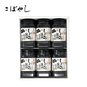しじみ醤油味付のり 6セット入り Sk30|kobayashigift