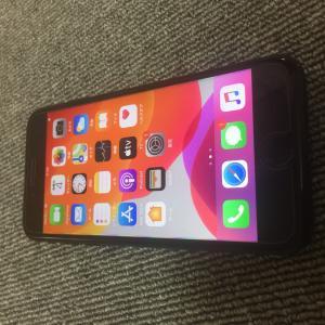 美品 国内版 simフリー iPhone7 128GB imei番号:355335085201482...