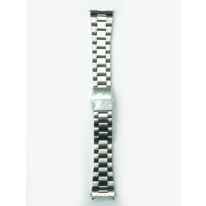 時計バンド 20ミリ 弓カン付き ステンレスバンド 送料100円より 凹凸対応  BANBI バンビ|kobe-asahiya