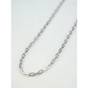 ネックレス 本物プラチナ シンプル鎖 デザイン フリーネックレス 45cm(新品)PT850 kobe-asahiya
