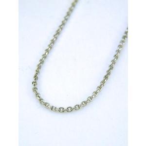 ネックレス 本物プラチナ シンプルカット鎖 デザイン フリーネックレス 45cm(新品)PT850 kobe-asahiya