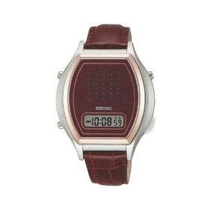 セイコー 音声腕時計 SBJS010 ワイン革バンド(新品)在庫有り SEIKO|kobe-asahiya