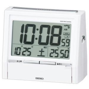 セイコー音声置時計トークライナーDA206Wホワイト(新品)在庫有り|kobe-asahiya