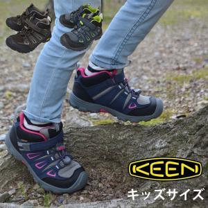 キッズ KEEN キーン アウトドアシューズ OAKRIDGE MID WP 防水ハイキングシューズ 3カラー トレッキング 登山靴 子供用|kobe-foot
