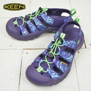 キーン メンズ アウトドアサンダル 【KEEN】 NEWPORT RETRO DYE SPIRAL6 ウォータープルーフ カジュアル ウォーキング ハイキング キャンプ|kobe-foot