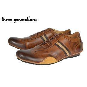 スリー・ジェネレーションズ(3GS) 103-0410 BROWN(2) kobe-foot