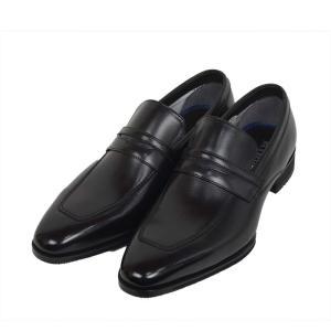 ビジネスシューズ マドラス モデロ madras MODELLO[DM8004]BLACK ブラック ローファー メンズ 革靴 結婚式 冠婚葬祭 就活 レースアップ 3E EEE|kobe-foot