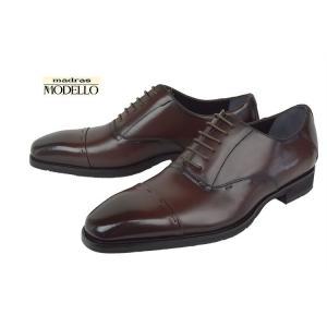 モデロ(MODELLO)[DM347]BURGUNDYマドラス モデロ ストレートチップビジネスシューズ|kobe-foot