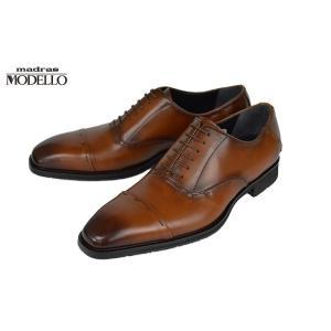 モデロ(MODELLO)[DM347]Light Brownマドラス モデロ ストレートチップビジネスシューズ|kobe-foot