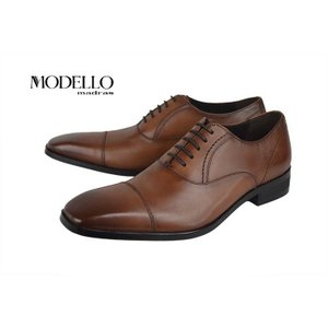 モデロ(MODELLO)[DM5110-LBR] LIGHT BROWN マドラス モデロ ストレートチップ ビジネスシューズ ライトブラウン kobe-foot
