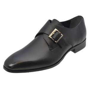 モデロ(MODELLO)[DM9253]Blackマドラス モデロ モンクストラップ ビジネスシューズ ブラック|kobe-foot