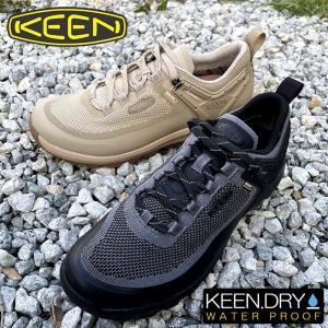 メンズ KEEN キーン CITIZEN EVO WP 完全防水KEEN.DRYのアウトドアシューズ 靴 キャンプ  街中でも履ける嬉しいデザインのアウトドアシューズ|kobe-foot