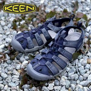 メンズ KEEN キーン CLEARWATER CNX クリアウォーターシーエヌエックス BLUE/STEEL GREY ブルー 1022962|kobe-foot