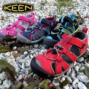 キッズ キーン KEEN SEACAMP2 CNX シーキャンプ2 シーエヌエックス アウトドアサンダル キャンプ カジュアル ビッグキッズ|kobe-foot