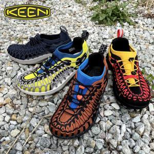 キーン メンズ 【KEEN】UNEEK SNK ユニークスニーク カジュアル ウォーキング ハイキング キャンプ フェス サンダル スニーカー|kobe-foot