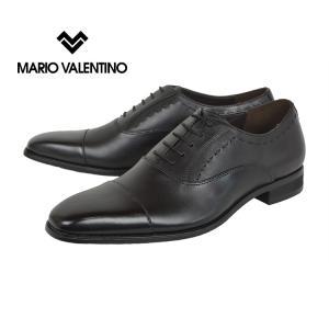 マリオヴァレンティーノ(MARIO VALENTINO)[MR3039]Black マリオヴァレンティーノ ストレートチップ ビジネスシューズ kobe-foot