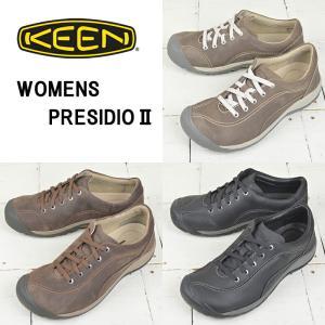 キーン レディース コンフォートシューズ【KEEN】PRESIDIO 2 プレシディオ 2 ウォーキング カジュアル|kobe-foot