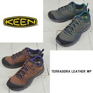 キーン レディース ハイキングシューズ【KEEN】TERRADORA LEATHER WP テラドーラ レザー ウォータープルーフ アウトドア kobe-foot