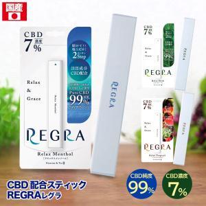 CBD VAPE 電子タバコ 使い捨てタイプ リキッド 国産 高濃度 7% 高純度 99% REGR...