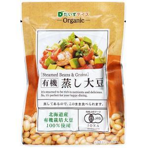 有機蒸し大豆 そのまま食べられる kobe-mikashie