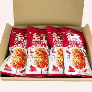 紅ショウガ天 柿の種揚 4袋入り メール便 送料無料 マツコの知らないセカイ マンルイ|kobe-mikashie|02