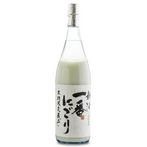 蓬莱 新酒一番にごり 1800ml 渡辺酒造|kobe-mikashie