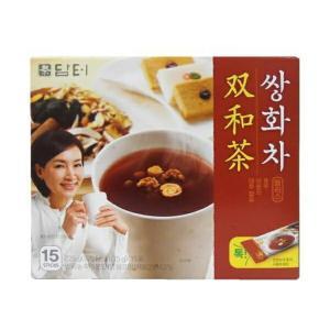 3個買えば送料無料!韓国伝統茶!高級KJサンファ茶(15g×15スティック入×3個)|kobe-o-ton