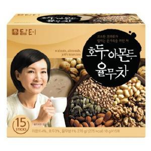 韓国伝統茶!クルミ、アーモンド、はと麦茶/韓国はと麦茶(18g×15スティック入×3個)【送料無料(北海道、東北、沖縄、離島は別途送料)】|kobe-o-ton