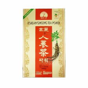 韓国伝統茶!健康維持に毎日1杯!!高麗人参茶(朝鮮人参茶)100包 送料無料(北海道・東北・沖縄、離島地方への配送は別途送料)|kobe-o-ton