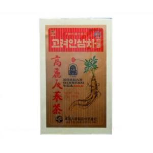 韓国伝統茶!健康維持に毎日1杯!!高麗人参茶(木箱)(3g×100包)【05P20Sep14】|kobe-o-ton