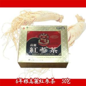 【送料無料(北海道、東北、沖縄、離島は別途送料)】【韓国直輸入!おすすめ!!】韓国伝統茶!健康維持に毎日1杯!!6年根高麗紅参茶(KOREAN RED GINSENG TEA)|kobe-o-ton
