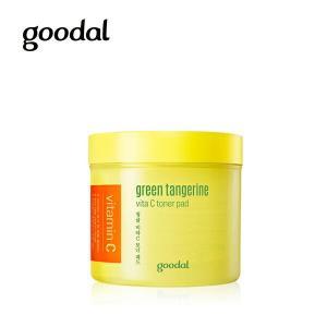 goodal グーダル チョンギュル ビタ C トナー パッド (green tangerine v...