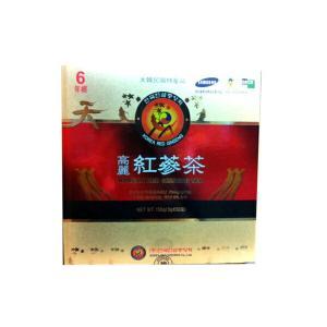 韓国直輸入!高麗人参高級紅参使用! 韓国伝統茶!健康維持に毎日1杯!!高麗紅参茶(3g×50包)|kobe-o-ton