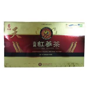 韓国直輸入!高麗人参高級紅参使用! 韓国伝統茶!健康維持に毎日1杯!!高麗紅参茶(3g×100包)|kobe-o-ton