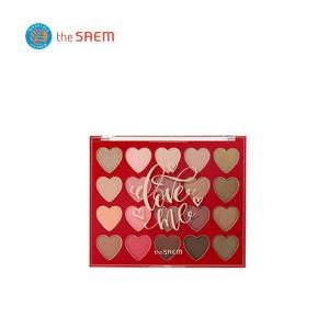 the saem ザ・セム ラブミー シャドウ パレット(Love Me Shadow Palette) 1.5g×20色 送料無料(一部地域除外) 韓国コスメ|kobe-o-ton