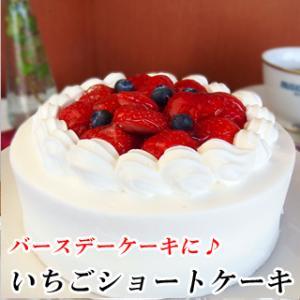 誕生日ケーキ バースデーケーキ  いちごショートケーキ 送料...