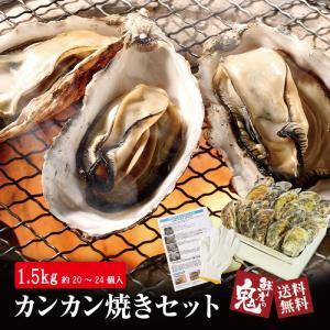 かき カンカン焼き 20個入 2021年新物 カキ 牡蠣 自宅で簡単 BBQ バーベキュー 海鮮
