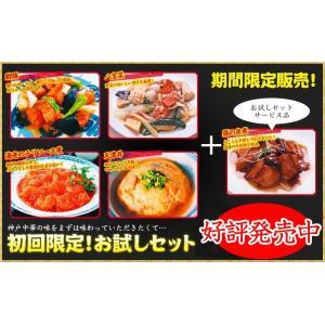 初回限定お試しセット・5種類の料理が入ってお値段4品分!【中華料理】|kobecyuka