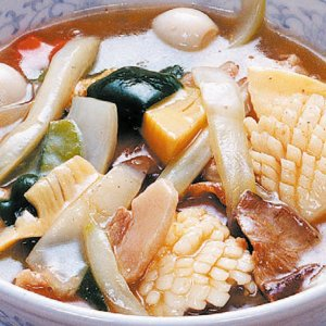 八宝菜麺(はっぽうさいめん) 【ラーメン】【八宝菜】|kobecyuka