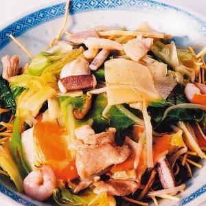 揚げそば 【皿うどん】【中華風皿うどん】|kobecyuka