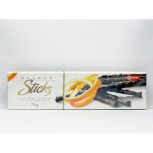 カーレッティー オレンジ スティック チョコ 75g kobegrocers