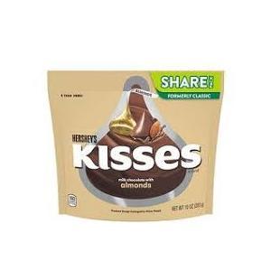 ハーシー キスチョコレート ウィズアーモンド シェアパック 283g|kobegrocers