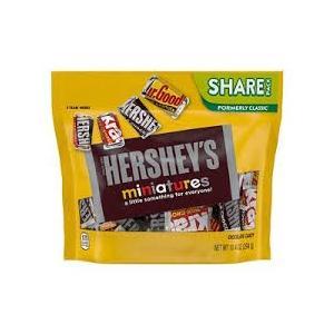 ハーシー ミニチュアーズ アソートチョコレート シェアパック294g|kobegrocers