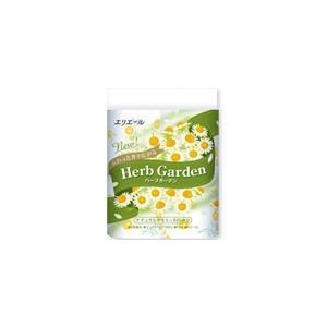 大王製紙 エリエール Herb Garden ハーブガーデン カモミール 4ロール3枚重ね 30m×...