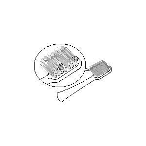 オムロン音波式電動歯ブラシ用 替え歯ブラシSB...の関連商品3